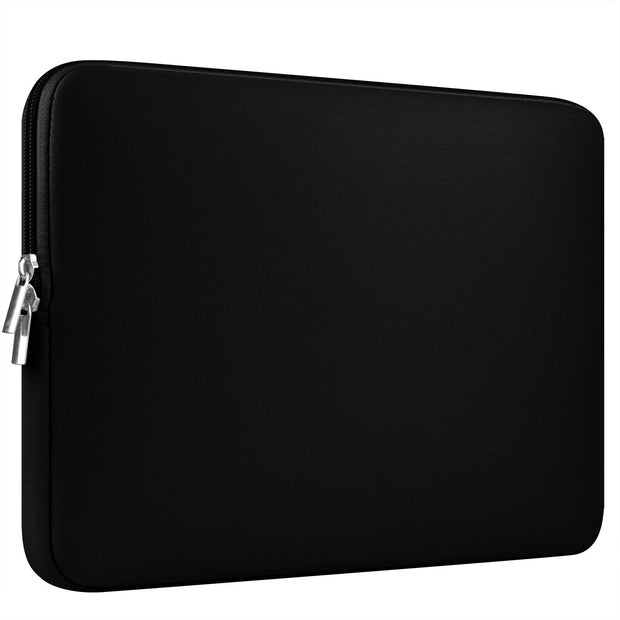 Macbook Case Set - Protective Cracked Black Marble