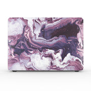 Purple Wave Marble - MacBook Air 13 (2020 - 2021)