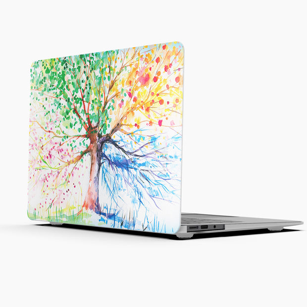 Exclusives MacBook Case Set - Protective Four Seasons Tree