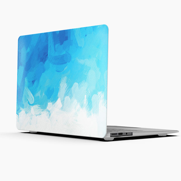 MacBook Case Set - Protective Blue Splash