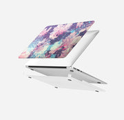 MacBook Case Set - Protective Abstract Watercolor Flowers