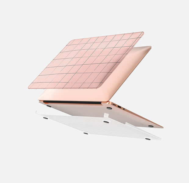 Pink Grid - MacBook Air 13 (2020 - 2021)