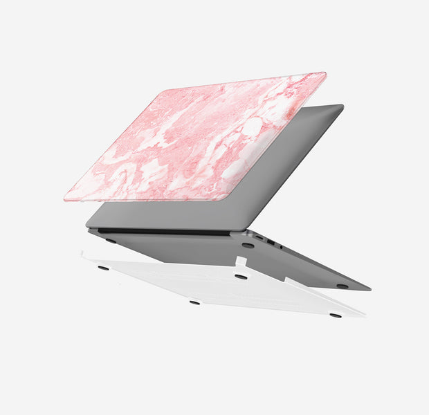 Macbook Case - Pink Marble Air 13 M1 2020