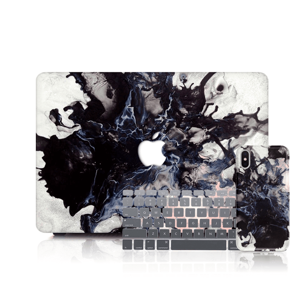 MacBook Case Set - Abstract In Pink