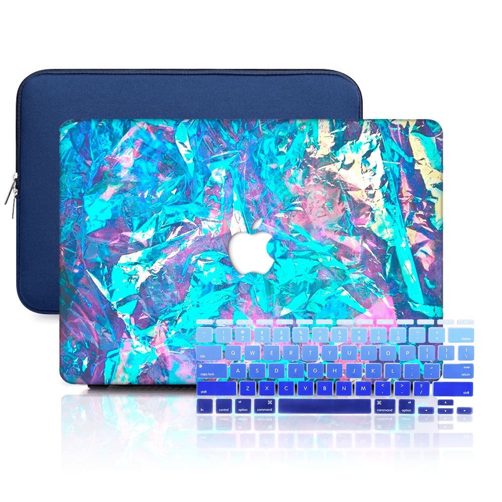 Macbook Case Set - Protective Iridescent World