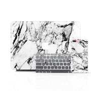 MacBook Case Set - Elegant Black and White Marble - colourbanana
