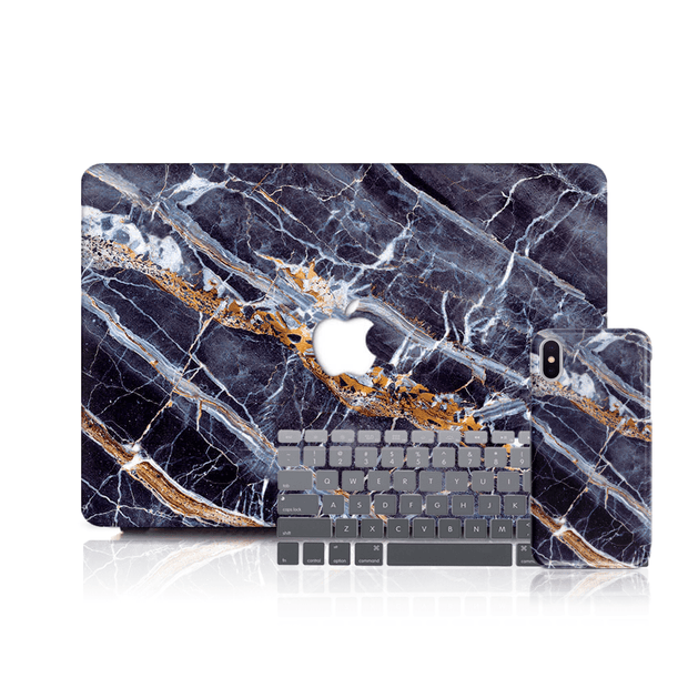 MacBook Case Set - Egyptian Marble