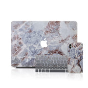 MacBook Case Set - Copper Marble