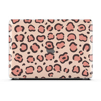 Macbook Case - Peach Leopard Fusion Air 13 M1 2020