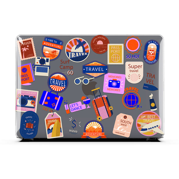 Vintage Travelling Labels - MacBook Air 13 (2020 - 2021)
