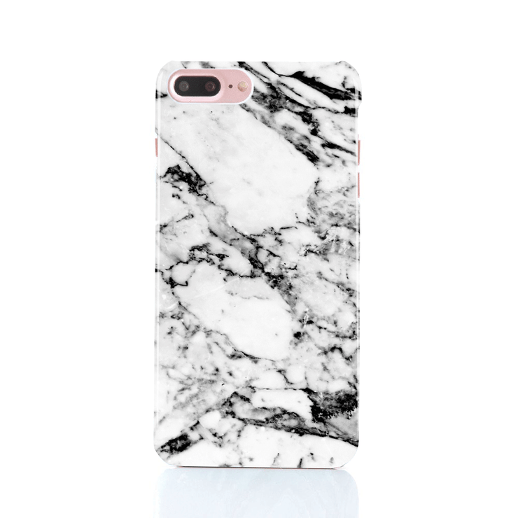 MacBook Case Set - Elegant Black and White Marble