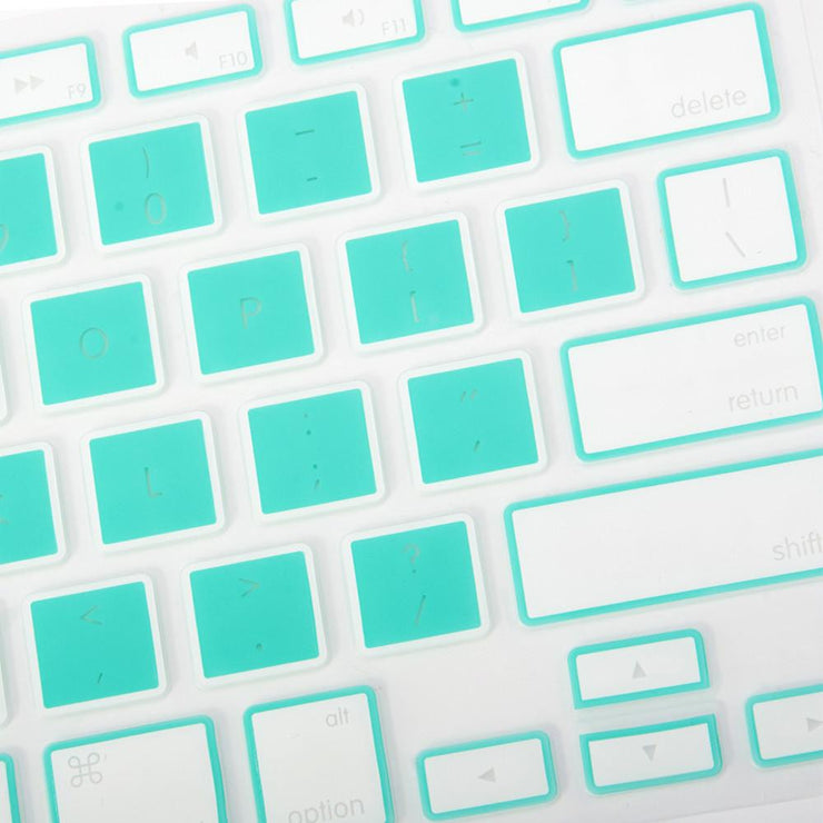 Macbook Keyboard Cover - Mint - colourbanana