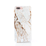 MacBook Case Set - Gold Streak Marble
