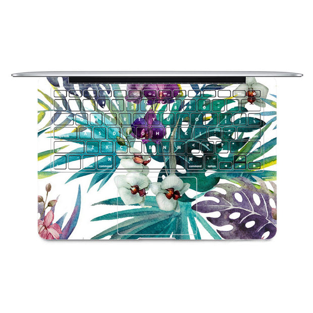 Macbook Decal - Tropical - colourbanana