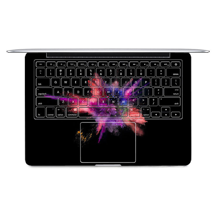 Macbook Decal - Color Burst - colourbanana