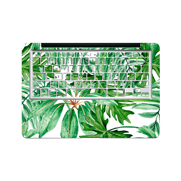 Macbook Decal - Summer Palm Leaves - colourbanana