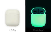 AhaStyle Full Protective Cover Keychain Silicone Case for Apple AirPods - Luminous