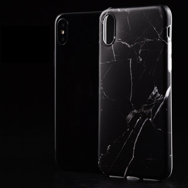 iPhone XS/Xs Mas/XR Package - Honed Black Marble