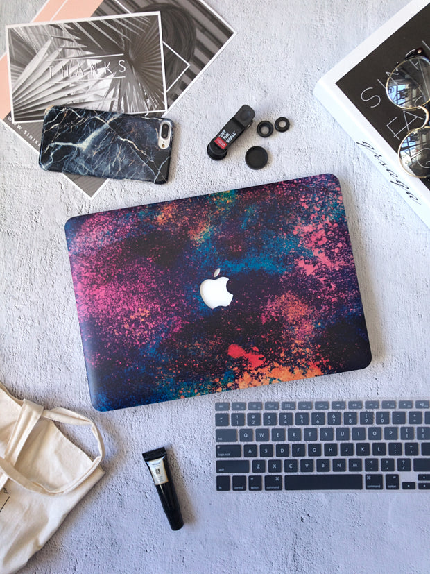 Macbook Case - Splatter Brushes