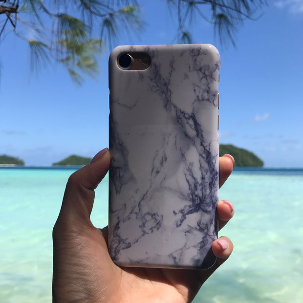 Classic White Marble Case - Colourbanana