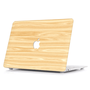 Macbook Case - Natural Slatted Wood - colourbanana