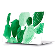 Macbook Case - Green Paddle Cactus - colourbanana