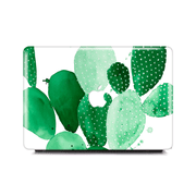 Macbook Case - Green Paddle Cactus
