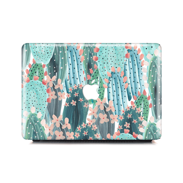 Macbook Case - Summer Cute Cactus