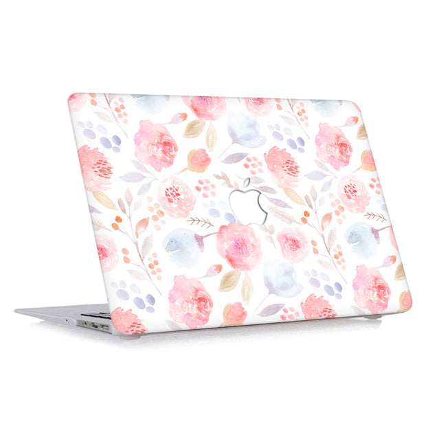 Macbook Case - Soft Peony