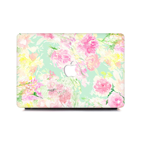 Macbook Case - Abstract Floral