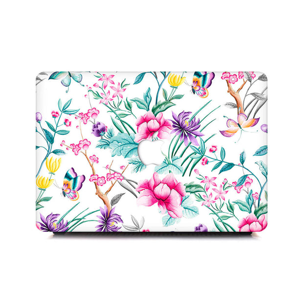 Macbook Case - Chinoiserie Rosa