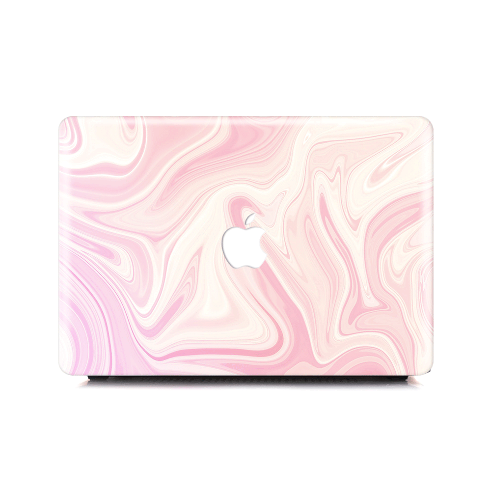 Macbook Case - Pinkish Marble