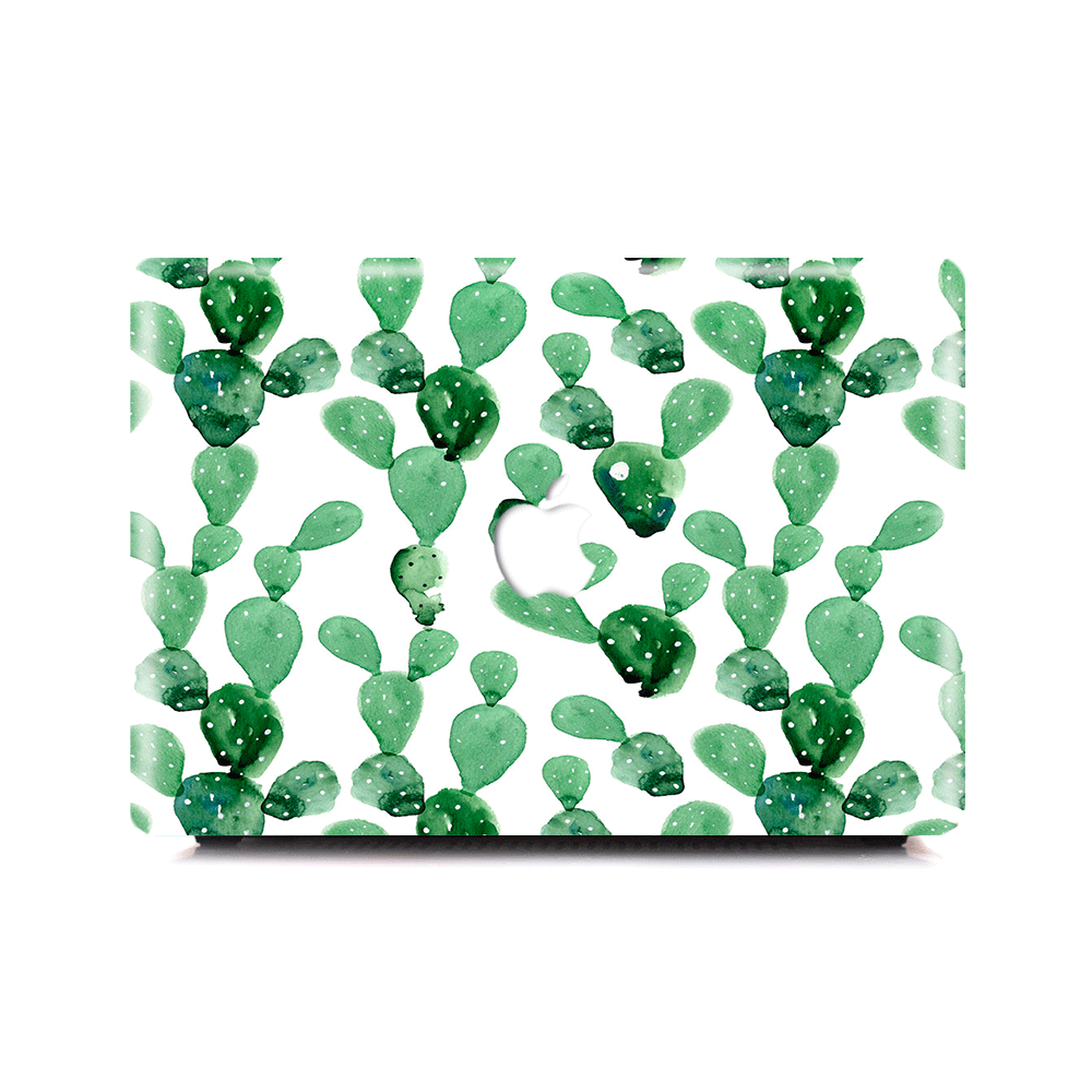 the latest 51bc8 bfe15 Macbook Case - Watercolor Cactus