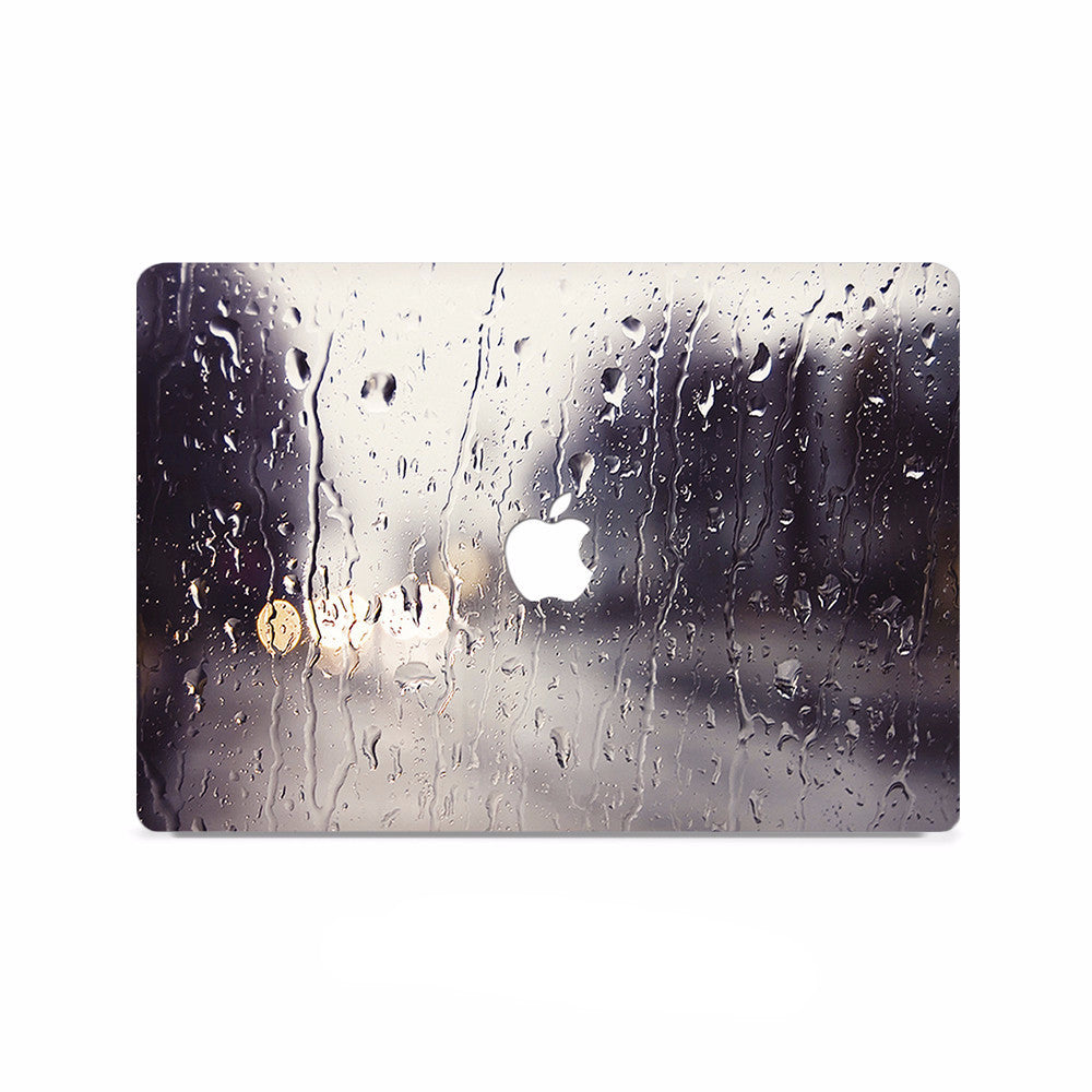 Macbook Decal - Raining Scene - colourbanana