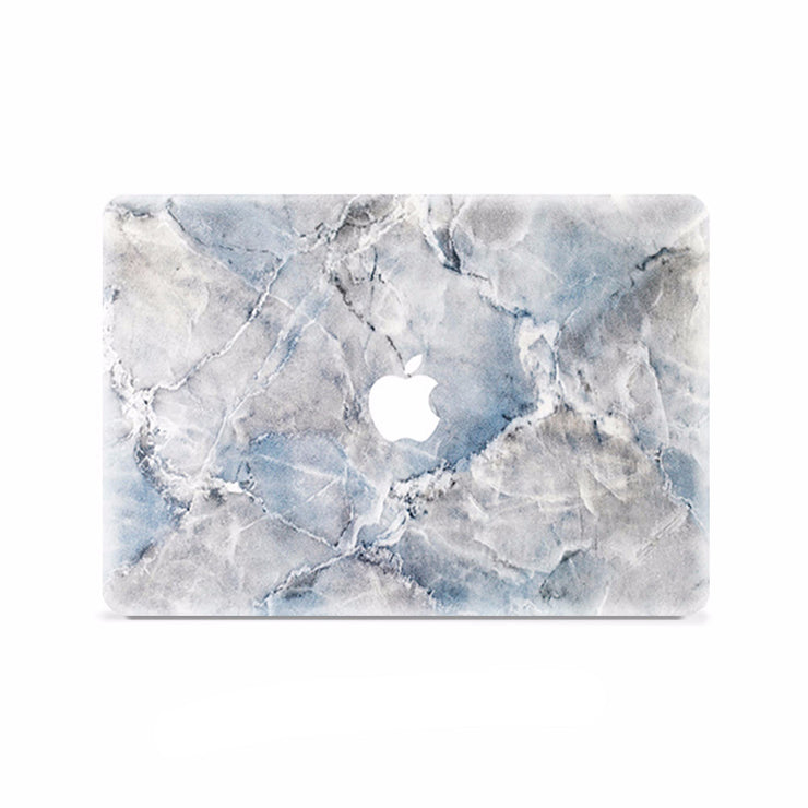 Macbook Decal -  Greyish Blue - colourbanana