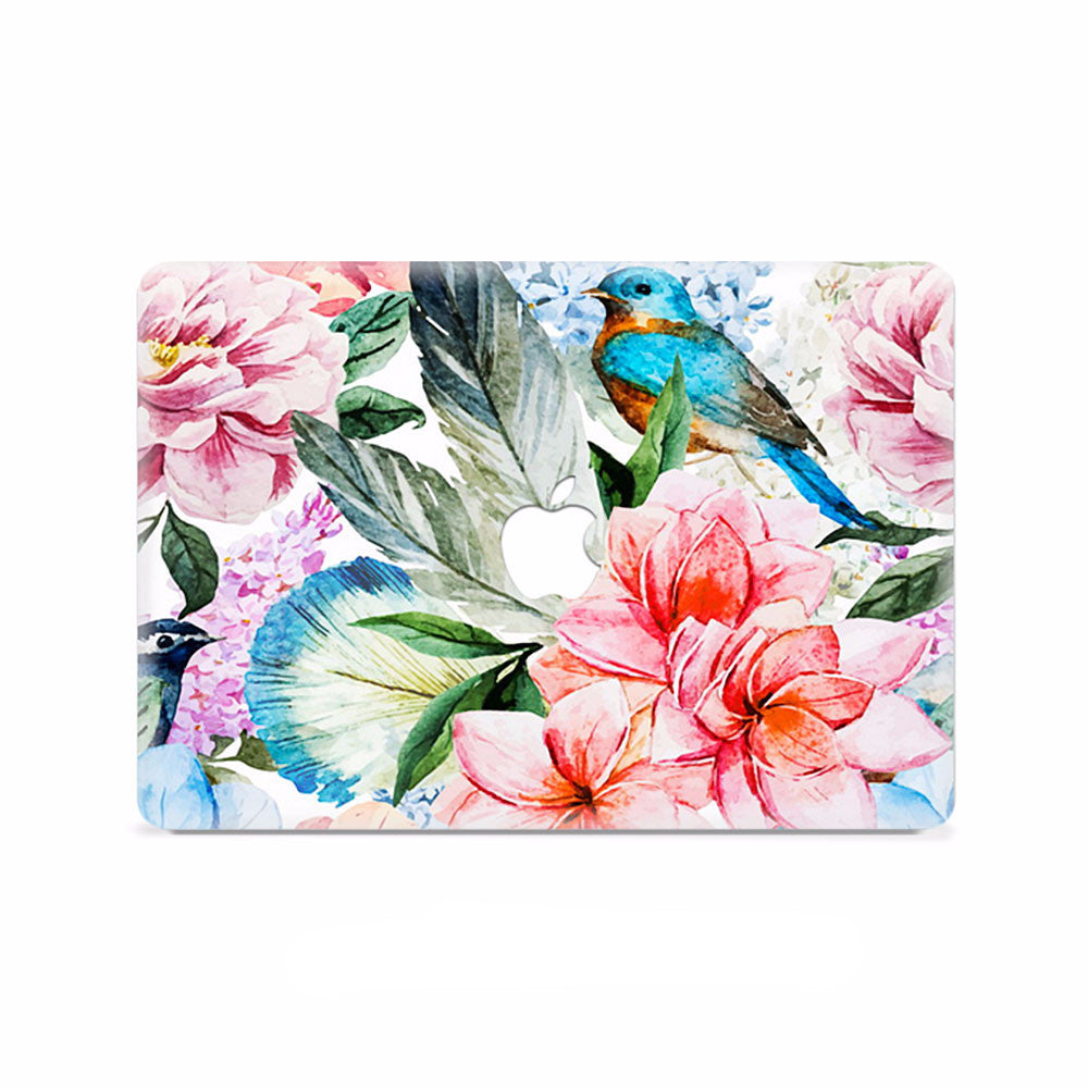 Macbook Decal - Bloom Rug - colourbanana