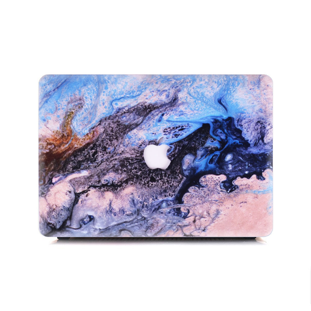 Macbook Case - Opal Soap Rocks - colourbanana