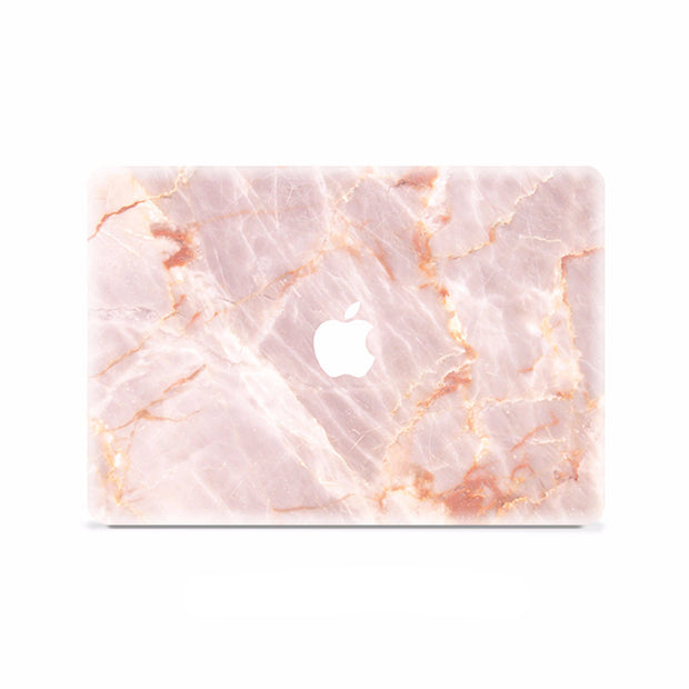 Macbook Decal -  Rose gold marble - colourbanana