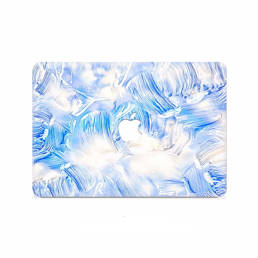 Macbook Decal - Electrify Ice Blue - colourbanana