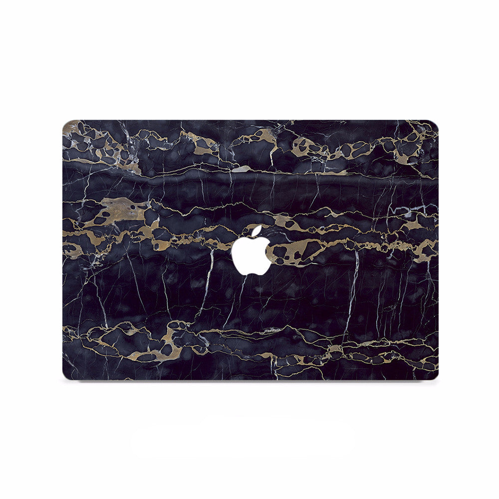 Macbook Decal - Black Marble - colourbanana