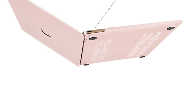 Macbook Case - Pink Cream - colourbanana