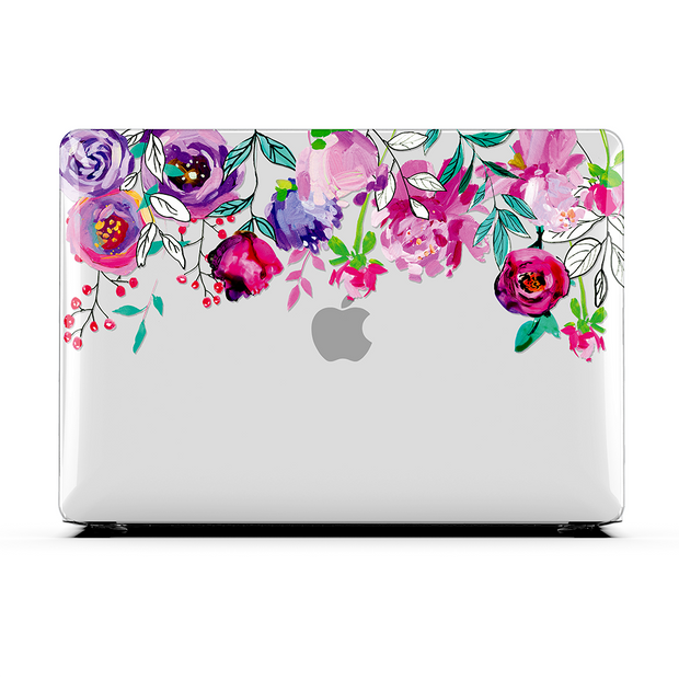 VIOLET FLORAL - MacBook Air 13 (2020)