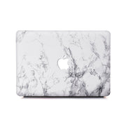 MacBook Case Set - White Marble