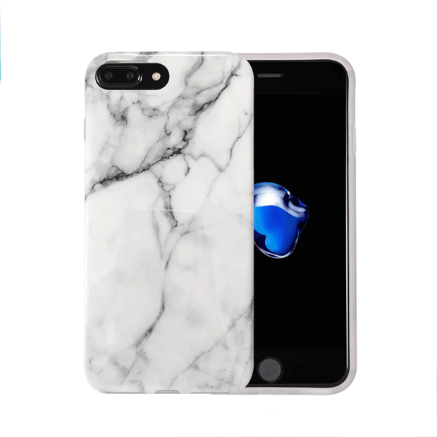 iPhone Case - White Marble - colourbanana