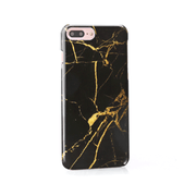 iPhone Case - Black Gold Marble - colourbanana