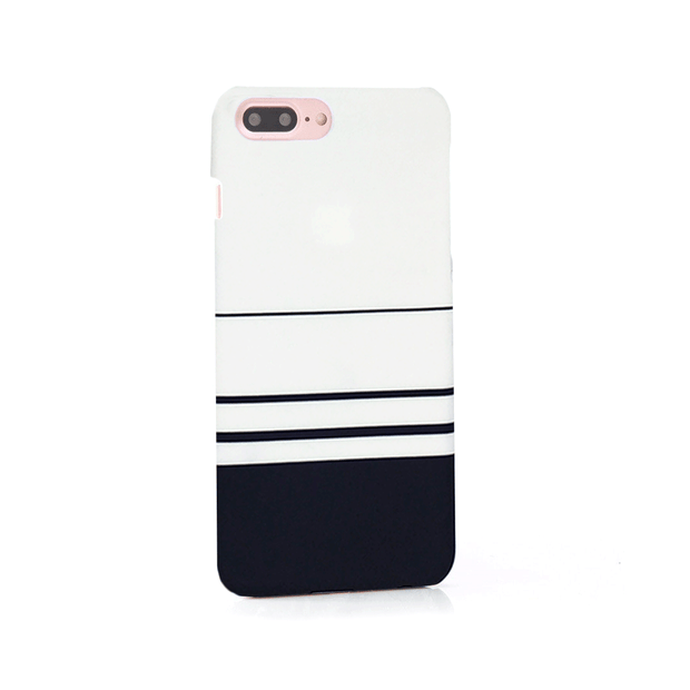 iPhone Case - Black and White Initials - colourbanana