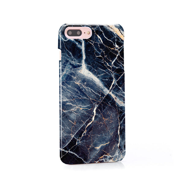 iPhone Case - Subtle Blue Marble - colourbanana