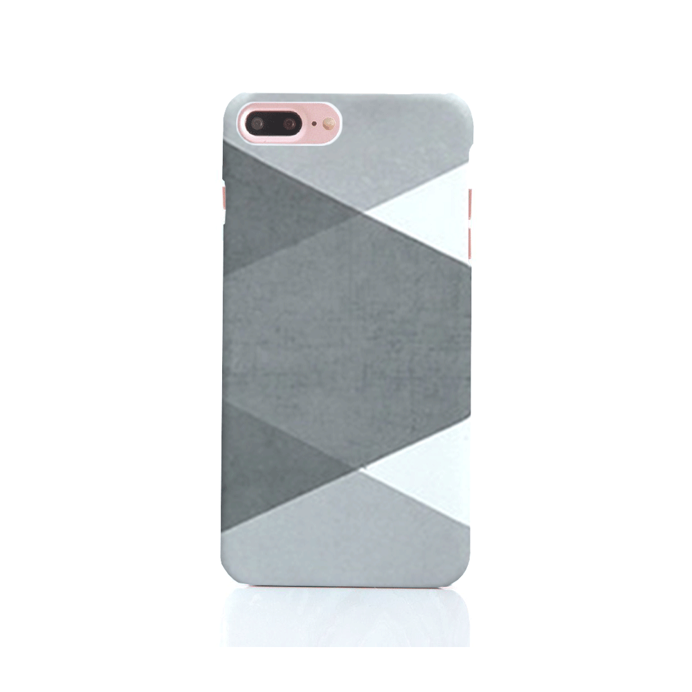 iPhone Case - Large Scale Gingham - colourbanana
