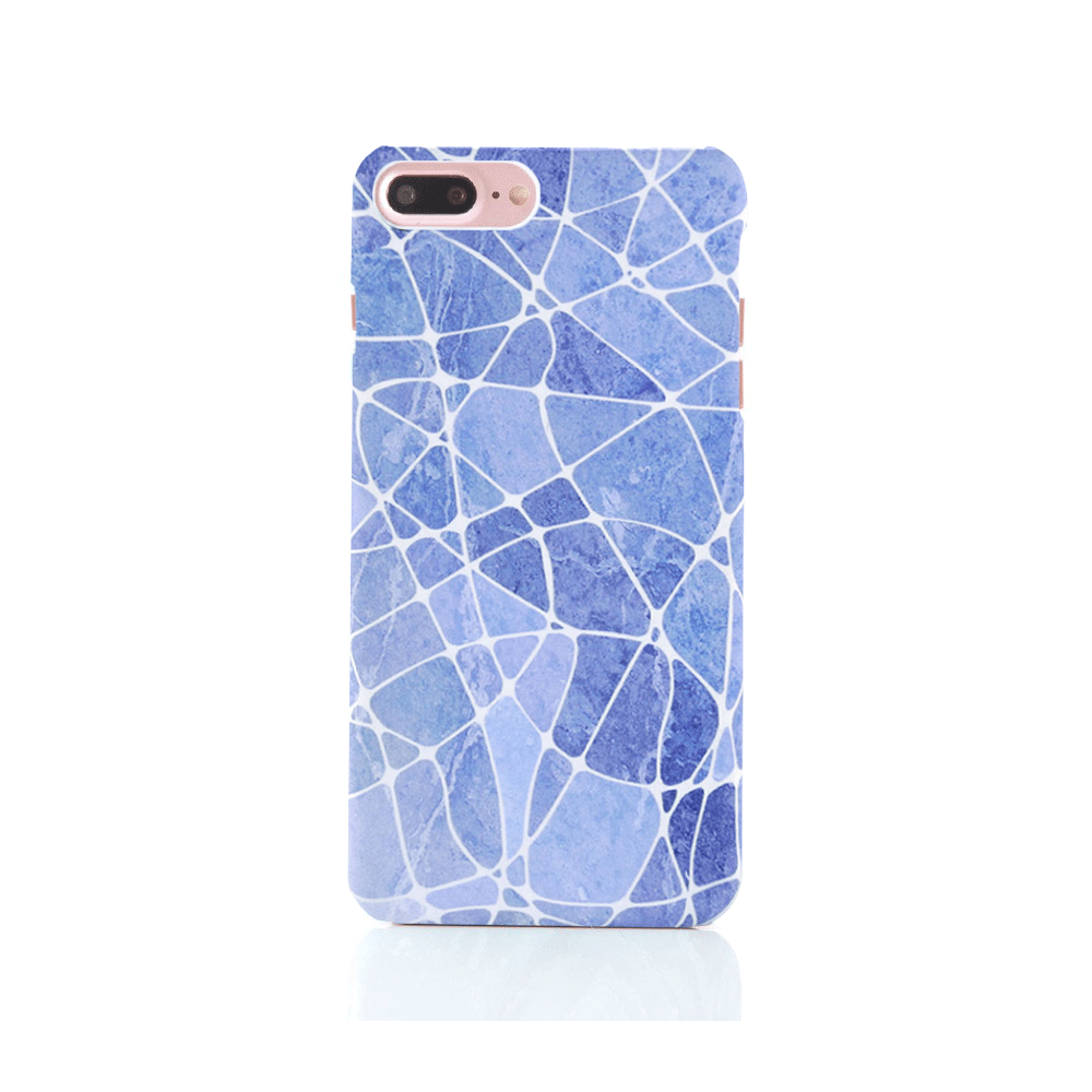 iPhone Case - Blue Marble - colourbanana