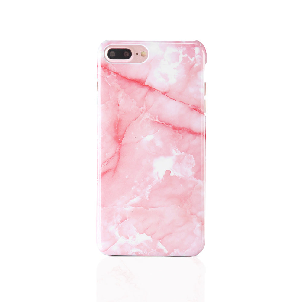 iPhone Case - Bright Pink Marble